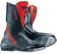 Buty motocyklowe Daytona Clubman czarno-czerwone