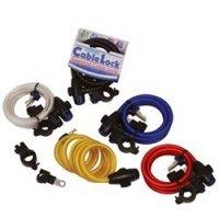 OXFORD Zabezpieczenie antykrad Cable Lock czerwony