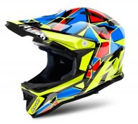 AIROH JUNIOR ARCHER CHIEF BLUE GLOSS Kask Off-road