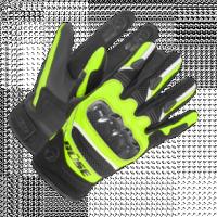 BUSE Rękawice motocyklowe Safe Ride czarno-neonowe