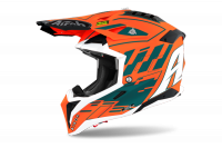 AIROH KASK OFF-ROAD AVIATOR 3 RAMPAGE ORANGE GLOSS