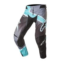 SPODNIE ALPINESTARS TECHSTAR VENOM S7  BLACK/DARK GRAY/ TEAL