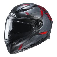 HJC KASK INTEGRALNY F70 DEVER BLACK/RED