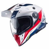 KENNY KASK EXPLORER BLUE/WHITE/RED