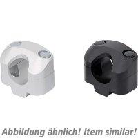 SW-MoTech Handlebar clamps 22 on 28 mm handlebar black Transalp 600 50180540060