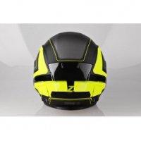 LAZER Kask otwarty TANGO Hexa  czarny/żółty/matowy