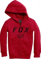 FOX BLUZA JUNIOR Z KAPTUREM  LEGACY MOTH DARK RED