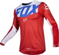 BLUZA OFF-ROAD FOX 360 KILA BLUE/RED
