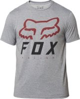FOX T-SHIRT HERITAGE FORGER TECH GRAPHITE/RED