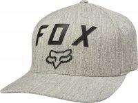 FOX CZAPKA  NUMBER 2 FLEXFIT LIGHT HEATHER GREY