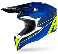 AIROH KASK OFF-ROAD WRAAP MOOD BLUE GLOSS