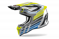 AIROH KASK OFF-ROAD STRYCKER SHADED YELLOW GLOSS