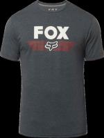 FOX T-SHIRT AVIATOR TECH HEATHER DEEP COBALT