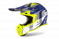 AIROH KASK OFF-ROAD TERMINATOR OPEN VISION SHOT BL