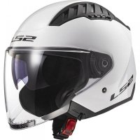 KASK LS2 OF600 COPTER SOLID WHITE