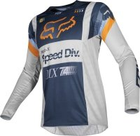 BLUZA OFF-ROAD FOX 360 MURC LIGHT GREY