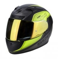 KASK INTE. SCORPION EXO-710 AIR MUGELLO MAT YELLOW
