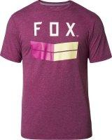 FOX T-SHIRT FRONTIER TECH HEATHER PURPLE