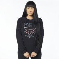 FOX KOSZULKA LADY Z DŁUGIM RĘKAWEM CONSULTED BLACK