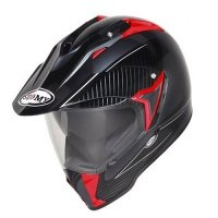 Kask SUOMY MX TOURER ANT/RED