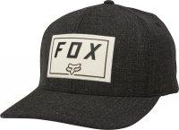 FOX CZAPKA Z DASZKIEM  TRACE FLEXFIT BLACK