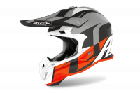 AIROH KASK OFF-ROAD TERMINATOR OPEN VISION SHOT OR