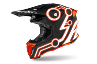 AIROH  KASK OFF-ROAD TWIST 2.0 NEON ORANGE MATT