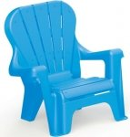 Krzesło plastikowe NIEBIESKIE Dolu DL3107