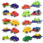 Wader 52610 Kid Cars Sport autko z przyczepą