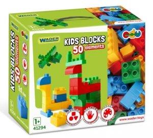 Kids Blocks klocki 50 el Wader 41294