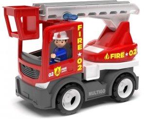 Multigo Fire ciężarówka z drabiną ze strażakiem IGRACEK EF27279