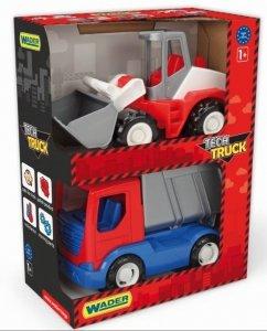 Tech Truck  wywrotka i ładowarka  Wader 35372