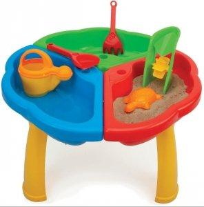 Stolik z zabawkami do piasku i wody 72000