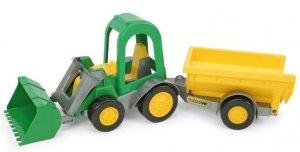Traktor ładowarka Farmer z Przyczepą Towarową