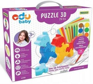 Puzzle 3D Pets