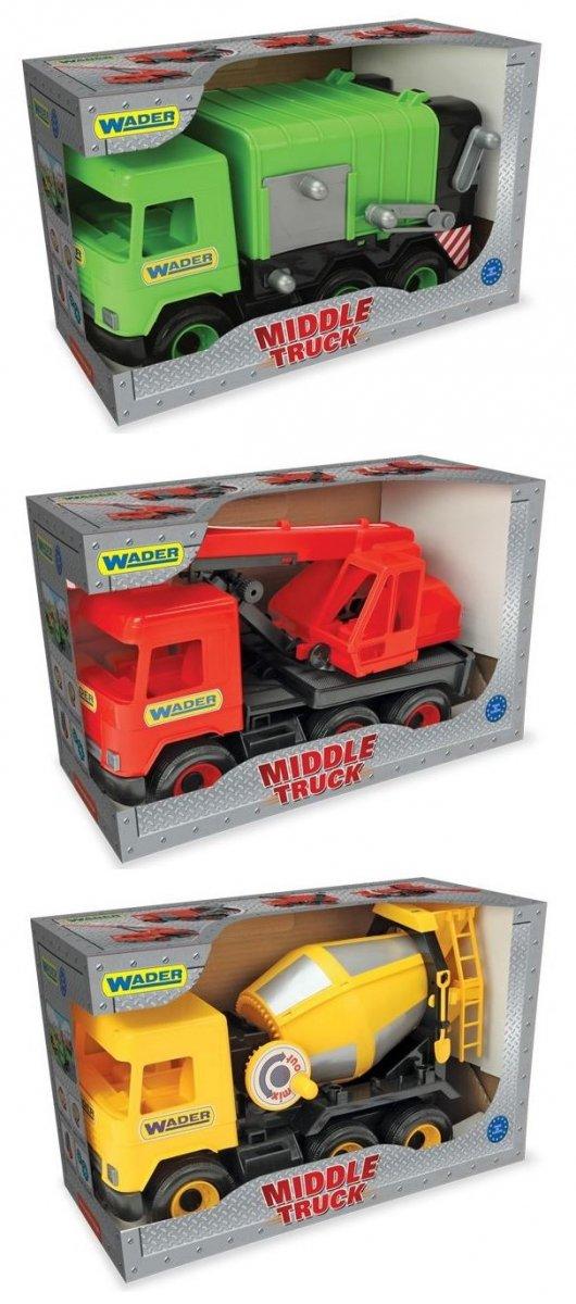 Wader Middle Truck  śmieciarka w kartonie- 32113