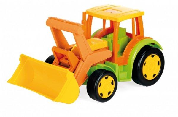 Gigant Traktor z przyczepą +zestaw do piasku 66005 + 10952