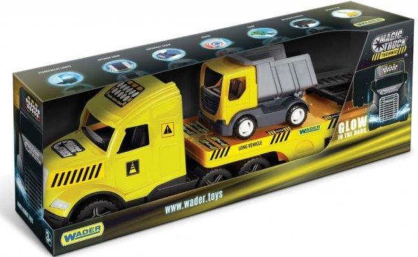 WADER Magic Truck Technic laweta z wywrotką