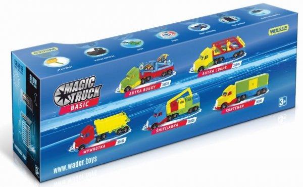 Magic Truck Basic śmieciarka  Wader 36330
