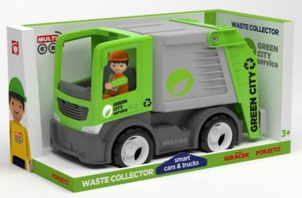 Multigo City kolektor odpadów z kierowcą