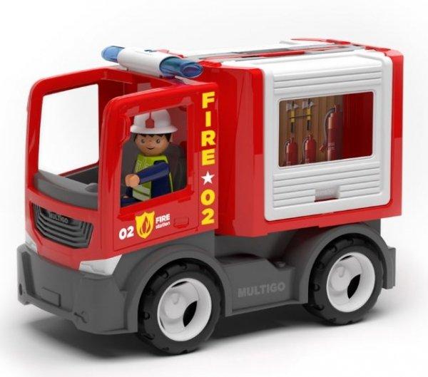 Multigo Fire multibox ze strażakiem IGRACEK