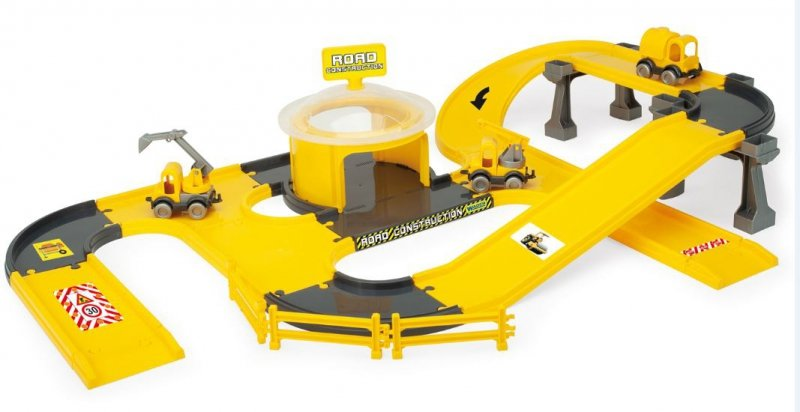 Wader 53540 budowa dróg -Play Tracks City