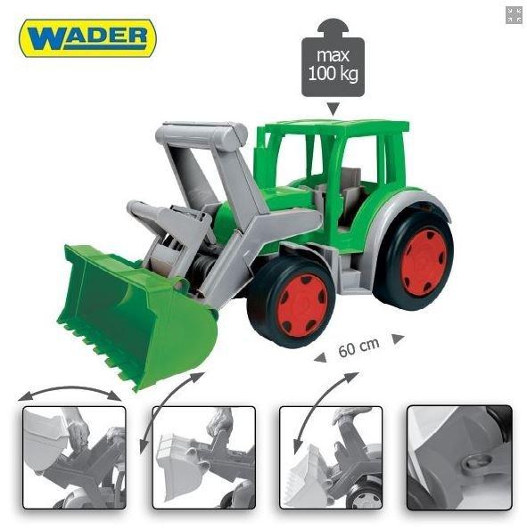 Wader Gigant Traktor - Farmer 66015