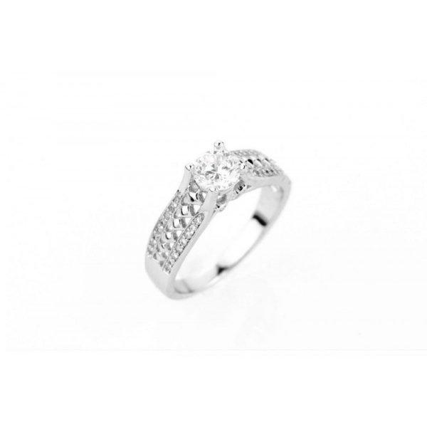 PIERŚCIONEK KRYSZTAŁKI STAL CHIRURGICZNA 464, Rozmiar pierścionków: US7 EU14