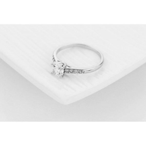 PIERŚCIONEK KRYSZTAŁKI STAL CHIRURGICZNA 468, Rozmiar pierścionków: US8 EU17