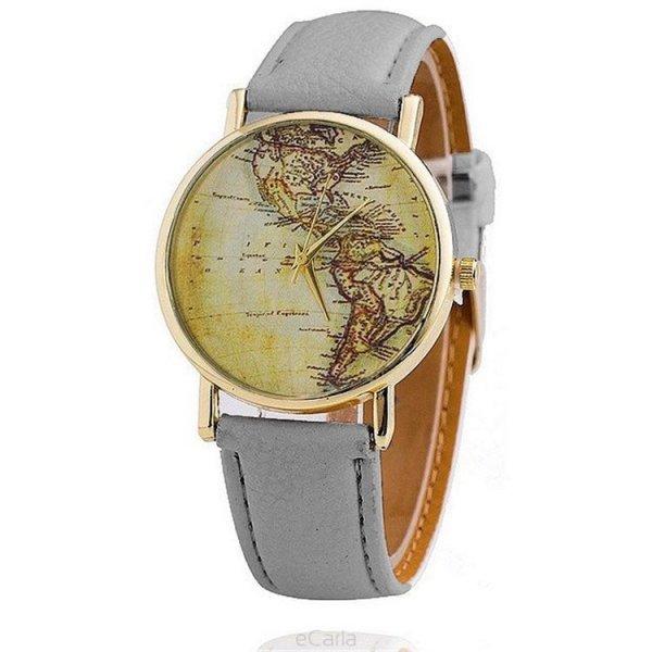 Zegarek sepia ameryka szarość Z33