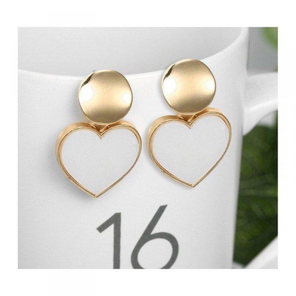 Kolczyki złote przy uchu K1289