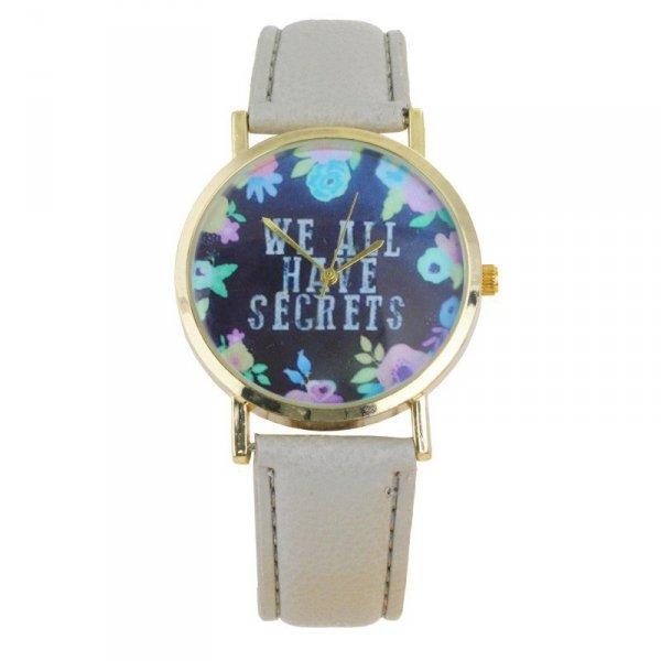 Zegarek secrets szarość Z186CZ