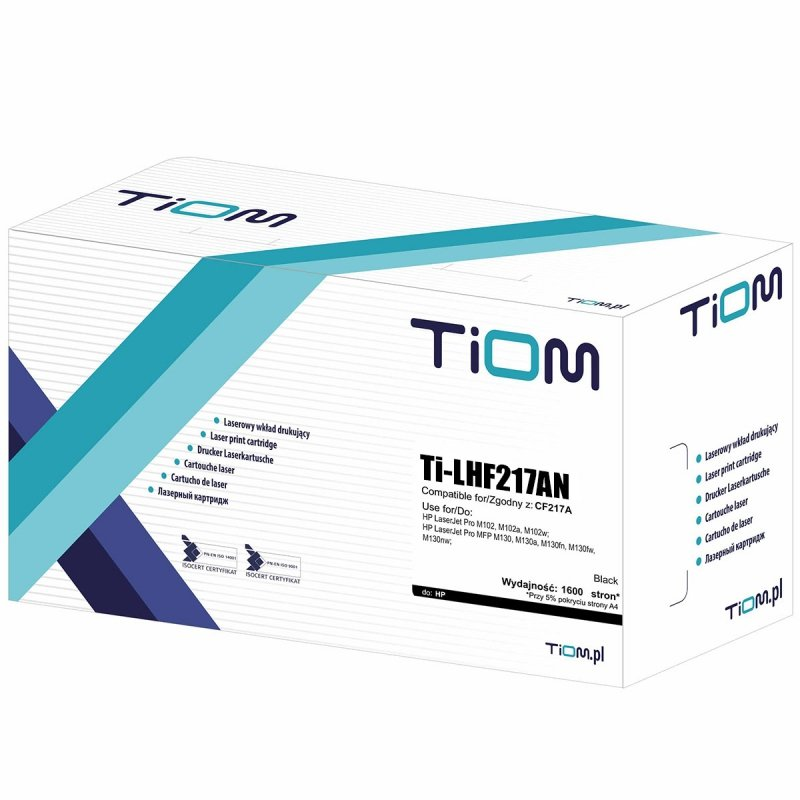 Toner Tiom do HP CF217A | 1600 str. | black