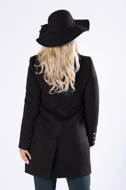 klasyczny płaszcz jednorzędowy